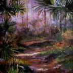 Everglades Pate 20 x 24 Oil SOLD