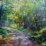 Into the Woods 16 x 20 Oil SOLD