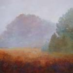 Textures of a Misty Morning 30 x 48 Oil SOLD
