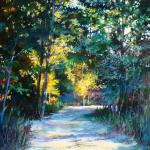 Escape Into the Woods 20 x 16 Oil on Gessobord $1650