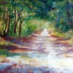 Country Lane Pastel 14 X 11 SOLD