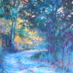 Back Acre Path 14 X 11 Pastel $650