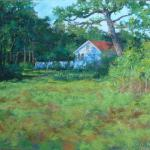 Homeplace 16 X 20 Pastel $1500