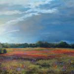 Texas Afternoon 16 X 20 Pastel $1650 Available at Thomas Leath Gallery, Waco, Texas
