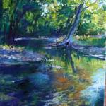 Cool Creek Pastel 14 X 11 $750 SOLD