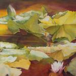 Golden Pond 36 x 60 Watercolor $5500