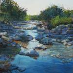 Hill Country Stream 20 x 16 Pastel $1650